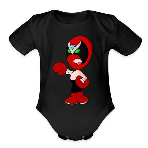 An OK Guy - Organic Short Sleeve Baby Bodysuit