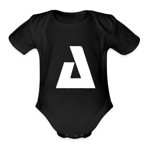 BIG A - Organic Short Sleeve Baby Bodysuit