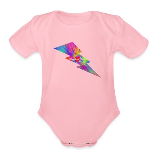 RocketBull X E - Organic Short Sleeve Baby Bodysuit