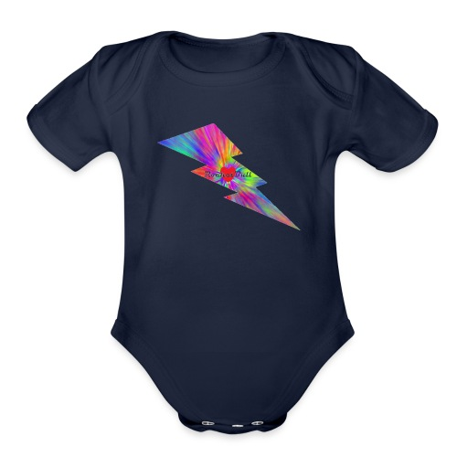 RocketBull X E - Organic Short Sleeve Baby Bodysuit