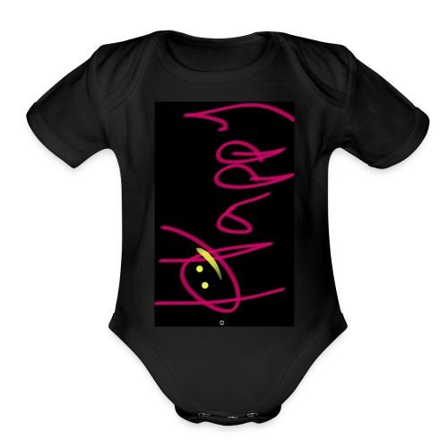 Gotta be Happy - Organic Short Sleeve Baby Bodysuit