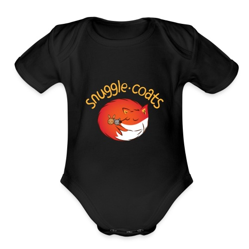 snugglecoats light png - Organic Short Sleeve Baby Bodysuit