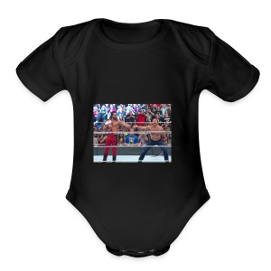 Shield tshirt - Short Sleeve Baby Bodysuit