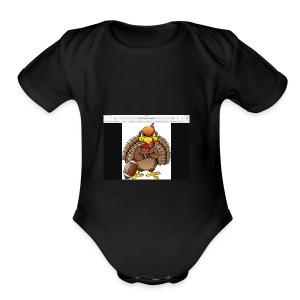 IMG 0107 - Short Sleeve Baby Bodysuit