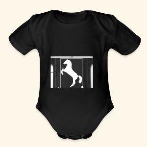 Horse merch - Short Sleeve Baby Bodysuit