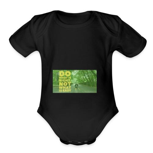 Awesome - Organic Short Sleeve Baby Bodysuit