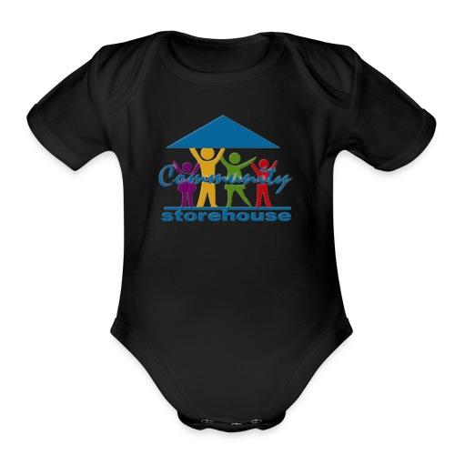 Storehouse Logo Series - Organic Short Sleeve Baby Bodysuit