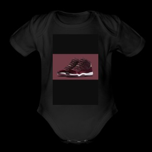 Jordan2x - Short Sleeve Baby Bodysuit