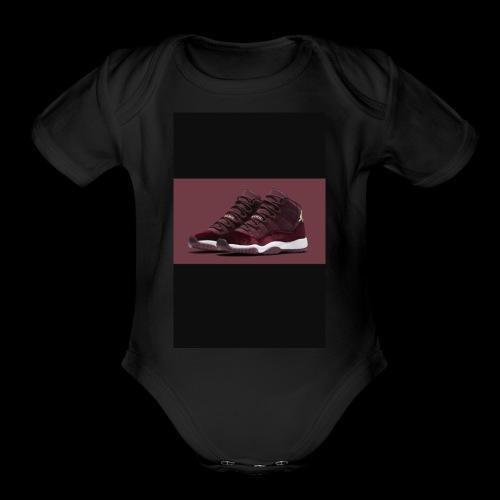 Jordan2x - Organic Short Sleeve Baby Bodysuit