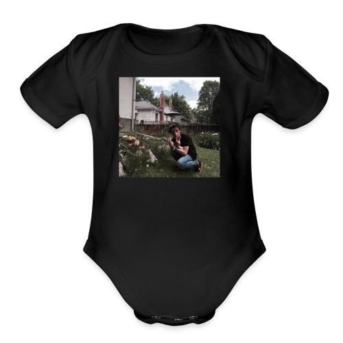 LP - Organic Short Sleeve Baby Bodysuit