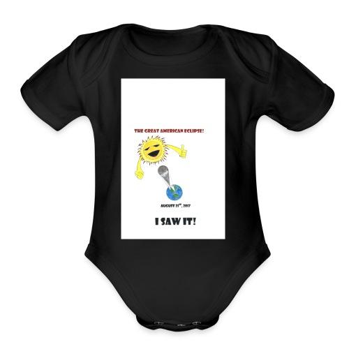 ANDERSON ECLIPSE2017 - Organic Short Sleeve Baby Bodysuit