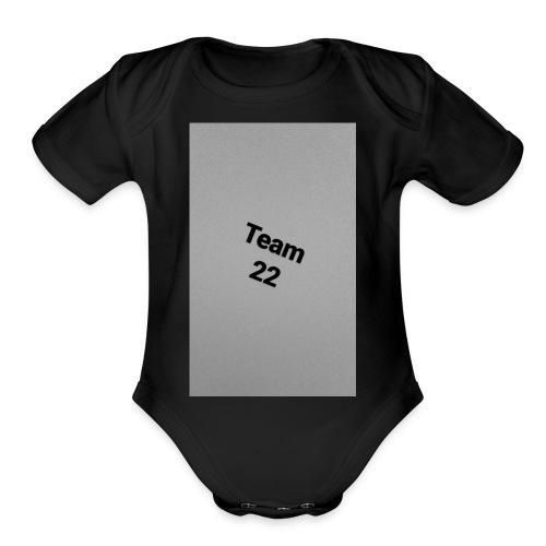 Team 22 - Organic Short Sleeve Baby Bodysuit