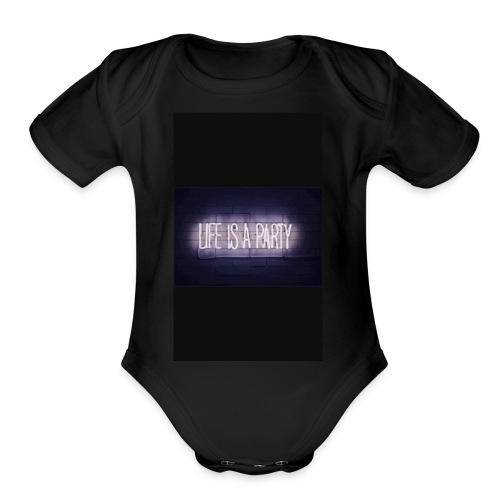IMG 0364 - Organic Short Sleeve Baby Bodysuit