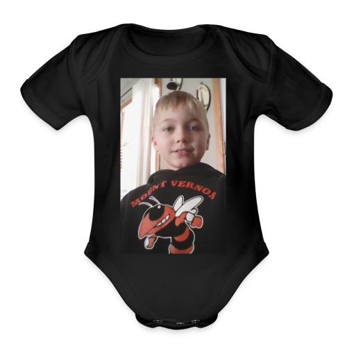 Skyler - Organic Short Sleeve Baby Bodysuit