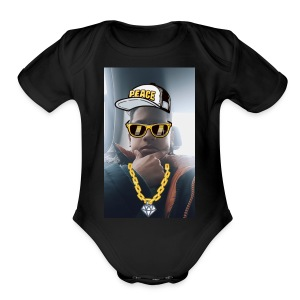 1521664698500555396663out - Short Sleeve Baby Bodysuit
