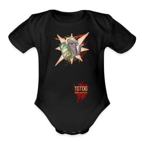 TGCat - Organic Short Sleeve Baby Bodysuit