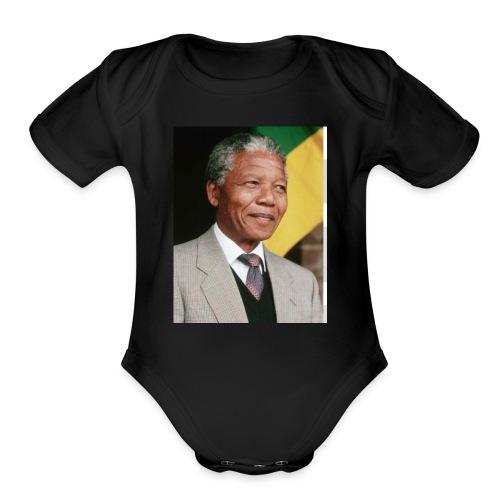 NM - Organic Short Sleeve Baby Bodysuit