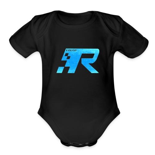 racing - Organic Short Sleeve Baby Bodysuit