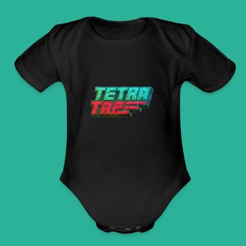 Tetra Tap - Organic Short Sleeve Baby Bodysuit