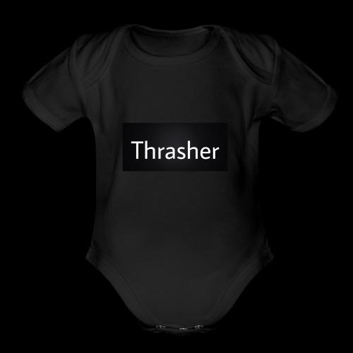 5AC4E4A5 904C 4D47 A633 B593487E2EDE - Organic Short Sleeve Baby Bodysuit