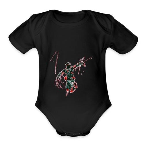Slinger - Organic Short Sleeve Baby Bodysuit