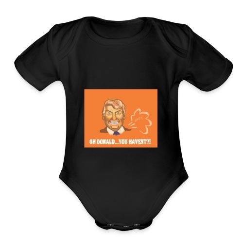 DONALD TRUMPED - Organic Short Sleeve Baby Bodysuit