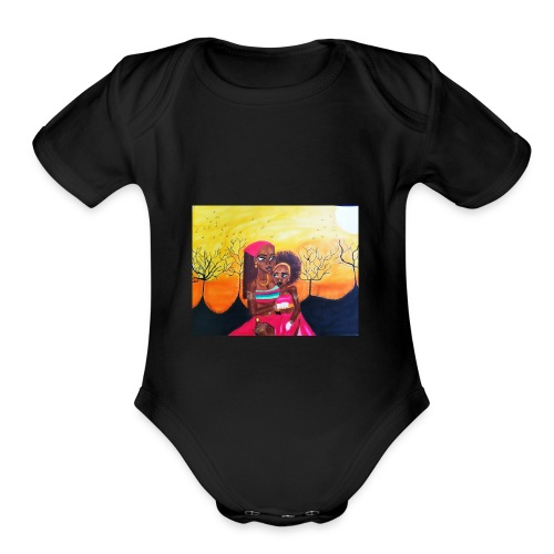 Home - Organic Short Sleeve Baby Bodysuit