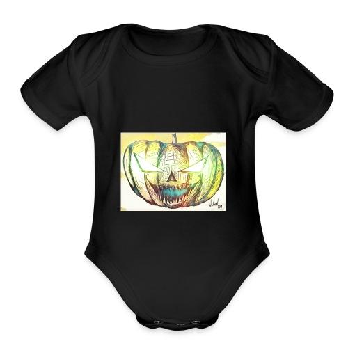 FRED - Organic Short Sleeve Baby Bodysuit