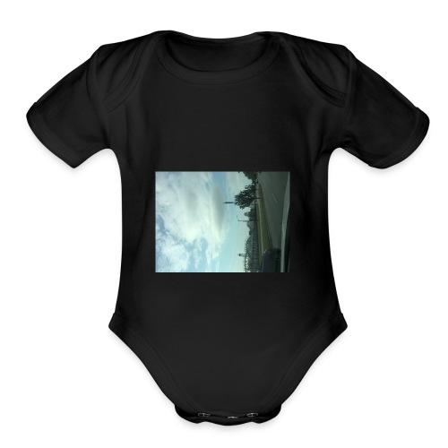 Six Flags - Organic Short Sleeve Baby Bodysuit