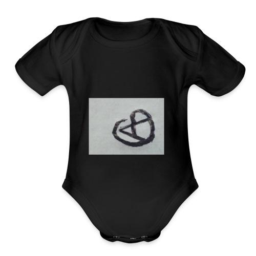 Axton Gamblin - Organic Short Sleeve Baby Bodysuit
