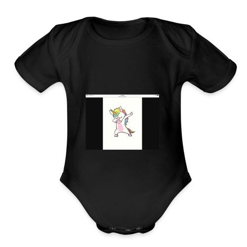 IMG 0109 - Organic Short Sleeve Baby Bodysuit