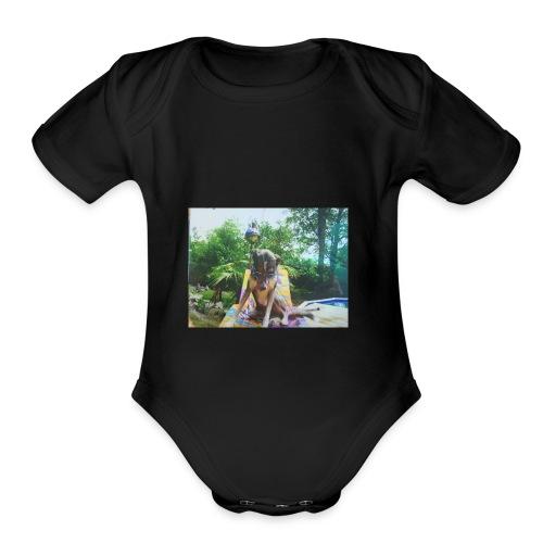 Jake - Organic Short Sleeve Baby Bodysuit