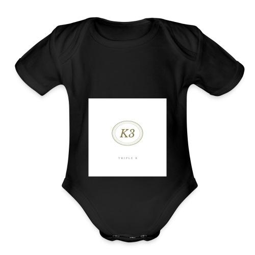 K3 - Organic Short Sleeve Baby Bodysuit