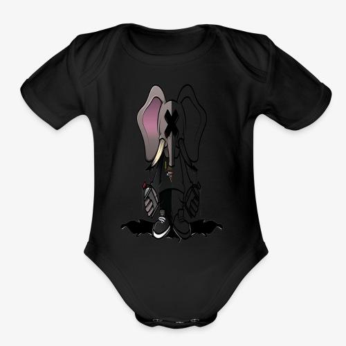 GRAFFITI IS LIFE TEE - Organic Short Sleeve Baby Bodysuit