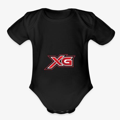 xg reg - Organic Short Sleeve Baby Bodysuit