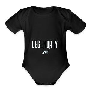 jnxc - Short Sleeve Baby Bodysuit