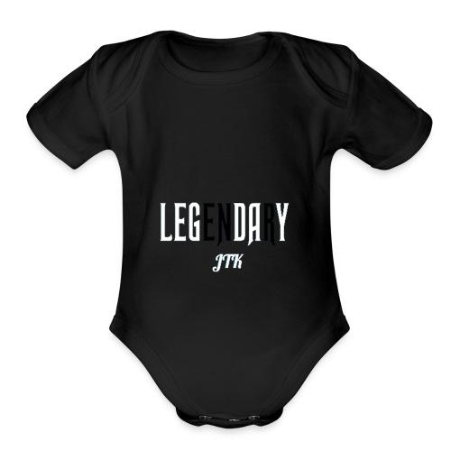 jnxc - Organic Short Sleeve Baby Bodysuit
