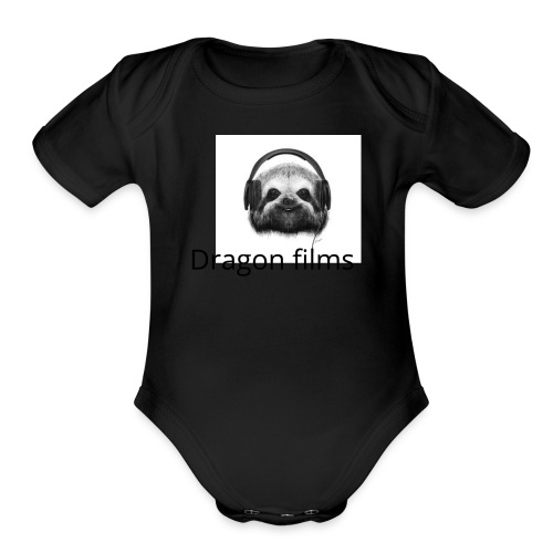 gamer soth - Organic Short Sleeve Baby Bodysuit