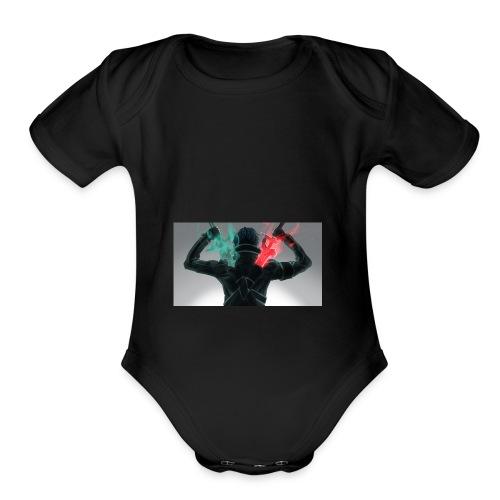 02B83B30 C1AD 4043 9531 1C440B6D51F3 - Organic Short Sleeve Baby Bodysuit