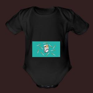 SmokeNPeace - Short Sleeve Baby Bodysuit