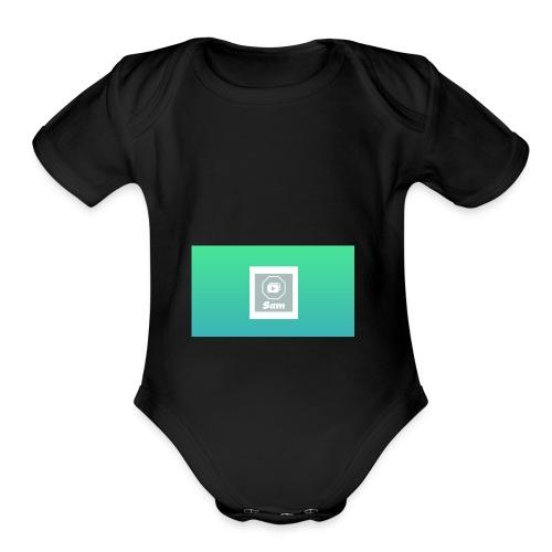 Sam - Organic Short Sleeve Baby Bodysuit