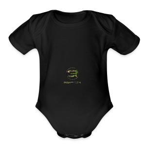 SB Logo camo png - Short Sleeve Baby Bodysuit
