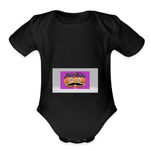 Pumpkin1 - Organic Short Sleeve Baby Bodysuit