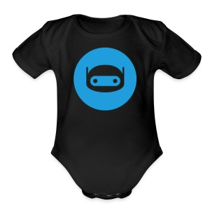 telegram-bot-platform - Short Sleeve Baby Bodysuit