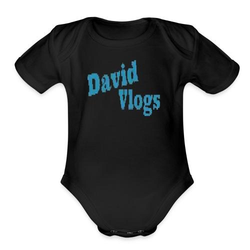 davidvlogsHD - Organic Short Sleeve Baby Bodysuit