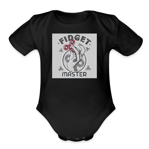 354758 19 - Organic Short Sleeve Baby Bodysuit