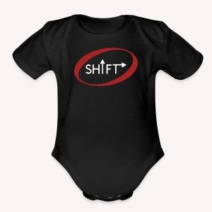 SHIFT 1 - Short Sleeve Baby Bodysuit