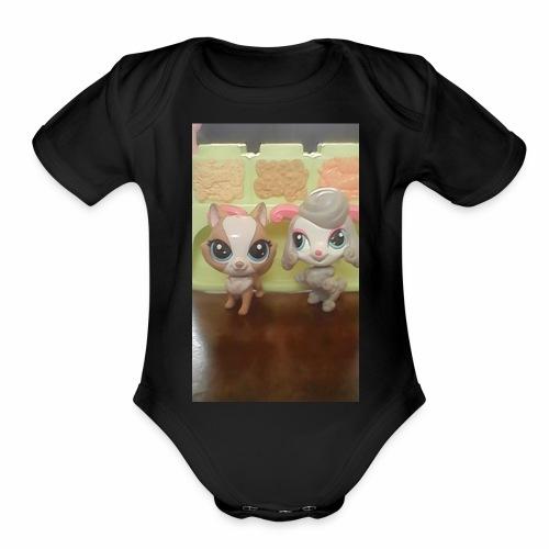 Funtastics Gaven LPS - Organic Short Sleeve Baby Bodysuit