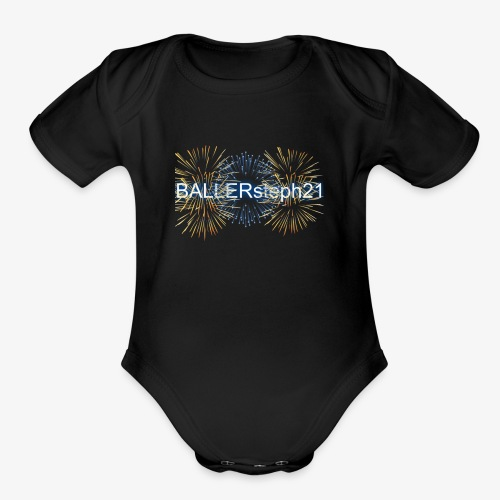 BAllersteph21 - Organic Short Sleeve Baby Bodysuit
