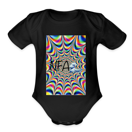 NFA Get lost in the sauce🔥 - Organic Short Sleeve Baby Bodysuit